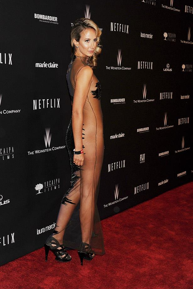 Lady Victoria Hervey has made this look a bit of a thing for herself.