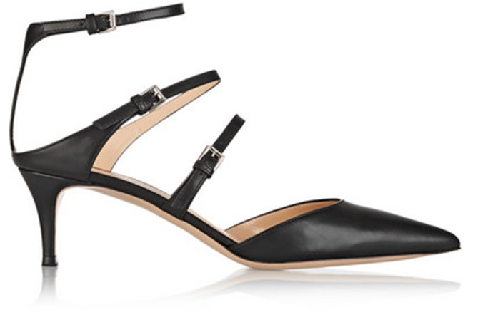 "Gianvito Rossi pumps, <a href=""https://www.net-a-porter.com/au/en/product/496495"">Net-a-Porter</a>"
