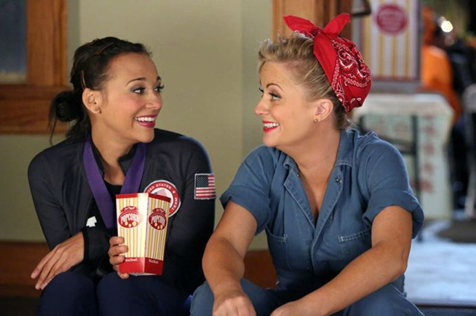 """<strong>Lesley and Ann</strong> from <em>Parks and Recreation</em> <BR> <strong>Why they work:</strong> sometimes the most unexpected friendships are the best ones <BR> <strong>Friendship life lesson:</strong> """"hoes before bros, uteruses before duderuses, ovaries before brovaries"""""""