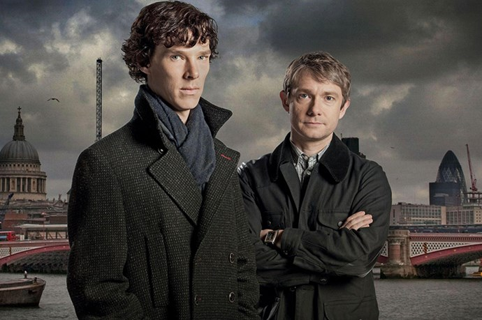 <strong>Sherlock and Dr. Watson</strong> from <em>Sherlock</em> <BR> <strong>Why they work:</strong> we all have that one friend that we put up with because even though they are infuriating, we can't help but love them. Who else can you play drunken celebrity heads with? <BR> <strong>Friendship life lesson:</strong> keep calm and carry on