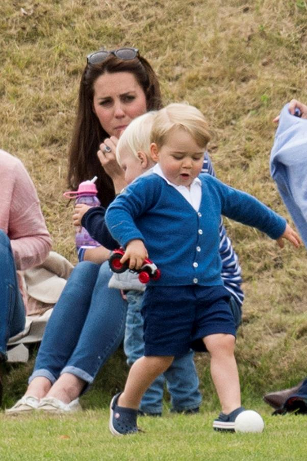 Yeah, check this out. Prince George dazzles the crowd with skills.