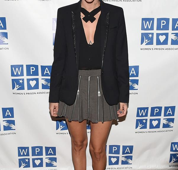 Orange is the New Black's Ruby Rose talks about gender fluidity