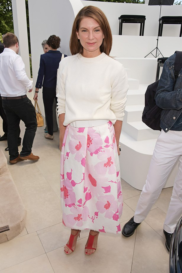 Net-a-Porter founder Natalie Massenet at the show.