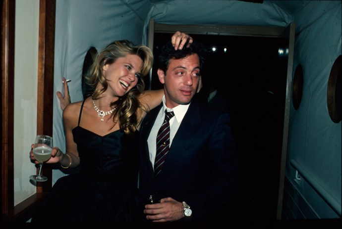 """CHRISTIE BRINKLEY AND BILLY JOEL (1983-1994) The """"Uptown Girl"""" to his """"downtown guy,"""" Brinkley had a nine year marriage to Joel that ultimately ended after her next husband, Rick Taubman, had already proposed."""