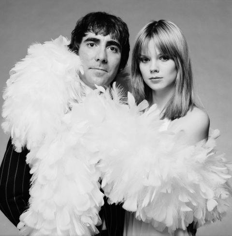 KEITH MOON AND ANNETTE WALKER LAX Walter-Lax was actually The Who drummer's second model love—prior to their marriage (which ended in his death in 1978), he was married to Kim Kerrigan, and the pair had a child together.