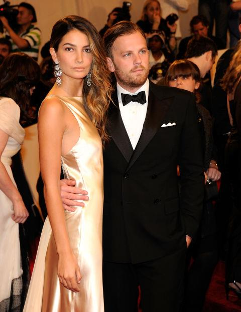 LILY ALDRIDGE AND CALEB FOLLOWILL (2010-PRESENT) The Victoria's Secret Angel and Kings of Leon frontman have been married since 2011. Aldridge gave birth to their first daughter, Dixie, in 2012