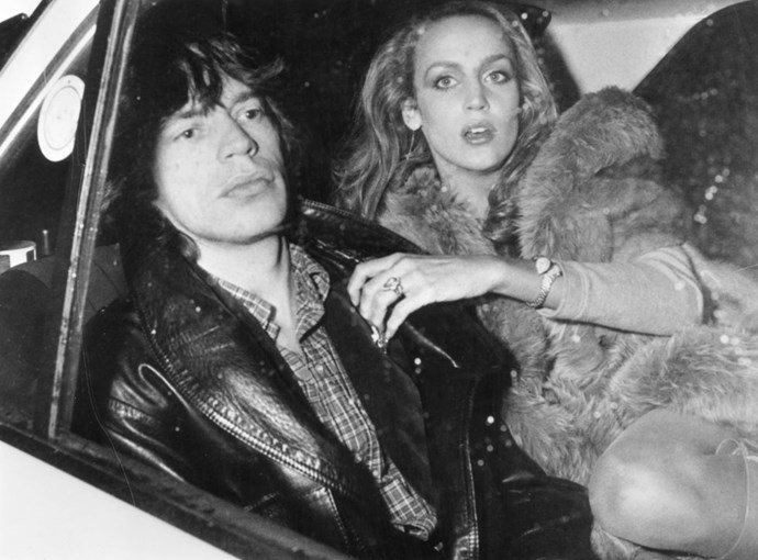 MICK JAGGER AND JERRY HALL (1976-1999) Though the pair first started dating in 1976, they didn't marry until 1990 in an unofficial Balinese ceremony. After 23 years and four children (including models Lizzy and Georgia May), they decided to go their separate ways in 1999.