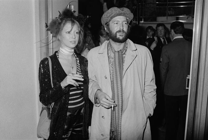 PATTIE BOYD AND ERIC CLAPTON (1979-1988) The saga of Boyd and Clapton is a dramatic one: While Boyd was still married to George Harrison, she and Clapton were good friends—until he fell for her and she rejected his advances. His heartbreak resulted in Layla and Other Assorted Love Songs, his epic album with Derek and the Dominoes. After they finally married years later, he had an affair—and a child—with Italian model Lory Del Santo in 1986. Boyd filed for divorce two years later.