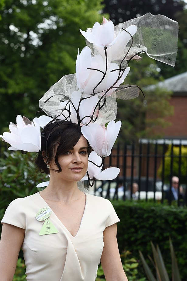 The hats of Ascot.