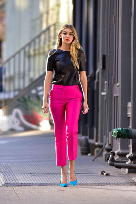 <strong>MAY 2, 2015</strong> <BR> Filming a Maybelline commercial in New York City.