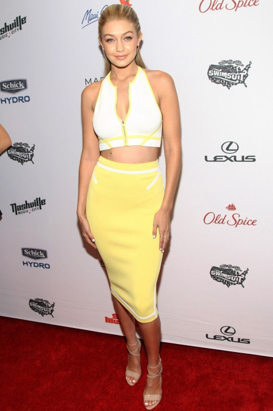<strong>FEBRUARY 10, 2015</strong> <BR> At the Sports Illustrated Swimsuit Edition Celebration at Marquee in New York