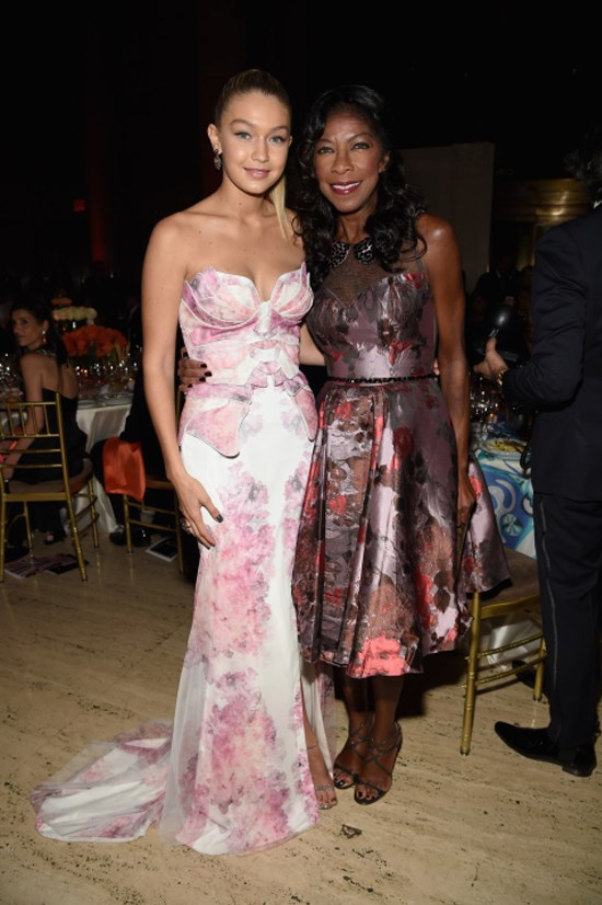 <strong>OCTOBER 20, 2014</strong> <BR> With Natalie Cole at the Angel Ball hosted by Gabrielle's Angel Foundation at Cipriani restaurant on Wall Street