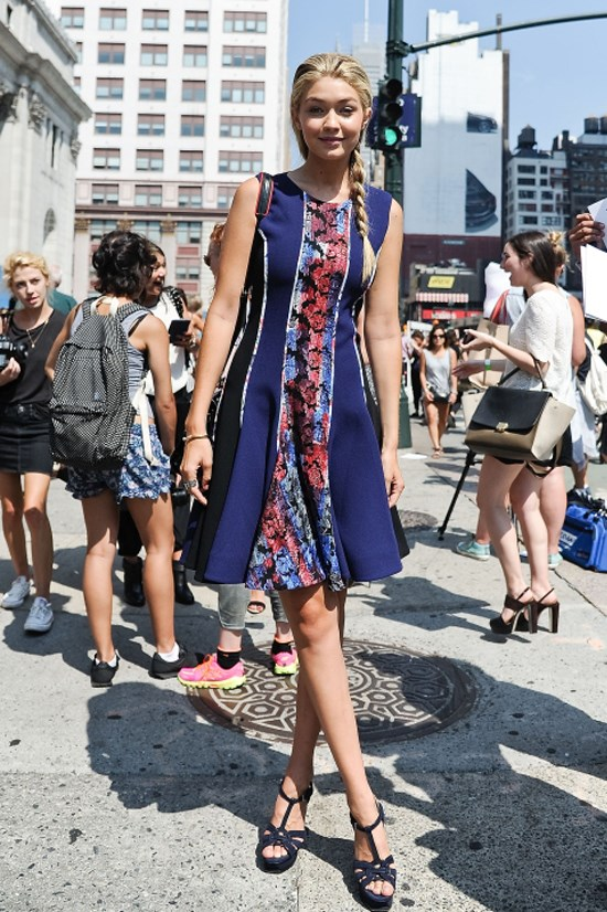 <strong>SEPTEMBER 6, 2014</strong> <BR> Leaving Lincoln Center during New York Fashion Week