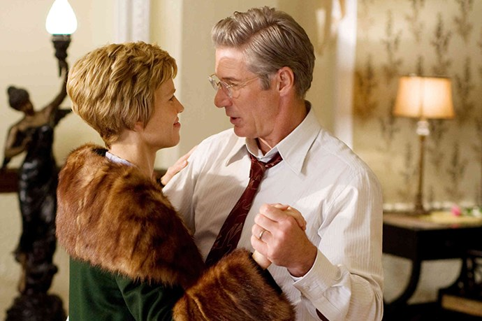<strong><em>Amelia</strong></em><br> <strong>People:</strong> Hilary Swank (35) and Richard Gere(60)<br> <strong>Age gap:</strong> 25 years