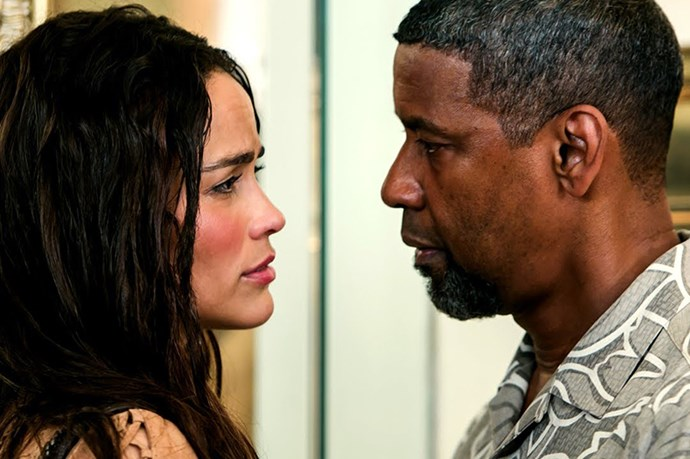 <em><strong>Deja Vu</strong></em><br> <strong>People:</strong> Paula Patton (30) and Denzel Washington (51)<br> <strong>Age gap:</strong> 21 years