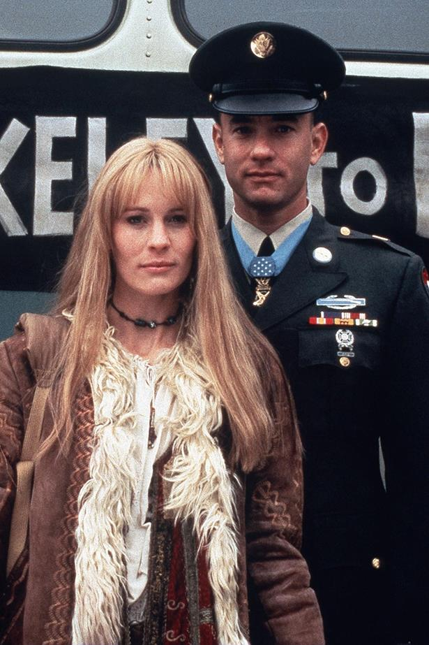 <em><strong>Forrest Gump</strong></em><br> <strong>People:</strong> Tom Hanks (37) and Robin Wright (28)<br> <strong>Age gap:</strong> 9 years