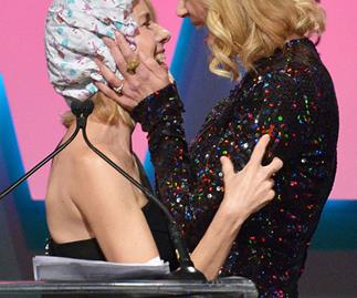 Why Nicole Kidman and Naomi Watts kissed while wearing shower caps
