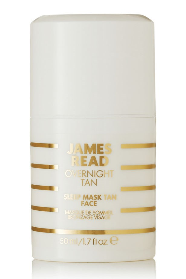 <strong>Boost your glow</strong> Teaming a hint of self-tan with a hefty dose of hydrating hydrator, hyaluronic acid and anti-ager, red algae this mask works overtime and is the perfect antidote too-many-espresso-martinis face. Sleep Mask Tan Face, $45.50, James Read, net-a-porter.com