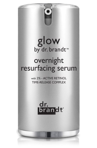 <strong>Reach for Retinol</strong> At night your skin goes into repair mode, working to fix the damage done from the day before, while prepping it for the one ahead. Anti-aging champion retinol can cause photo-sensitivity so should be avoided during the day, but slotting one in before bed will nudge your skin's repair process along. Meaning? A brighter complexion by the time you hit the snooze button. This definitely worth-the-splurge buy from Dr. Brandt features 2% retinol, one of the highest grades you can get without a prescription. Glow Overnight Resurfacing Serum, $112, Dr. Brandt, mecca.com.au