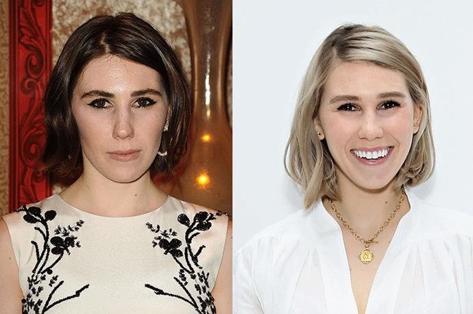 <strong>Zosia Marnet</strong> <br><br>While we've come to associate Marnet's brunette lob as the lovable and naïve <strong>Shoshanna Shapiro</strong> of <strong>Girls</strong>, her recent colour change to a dusty, platinum lob has us itching for a trip to the salon.