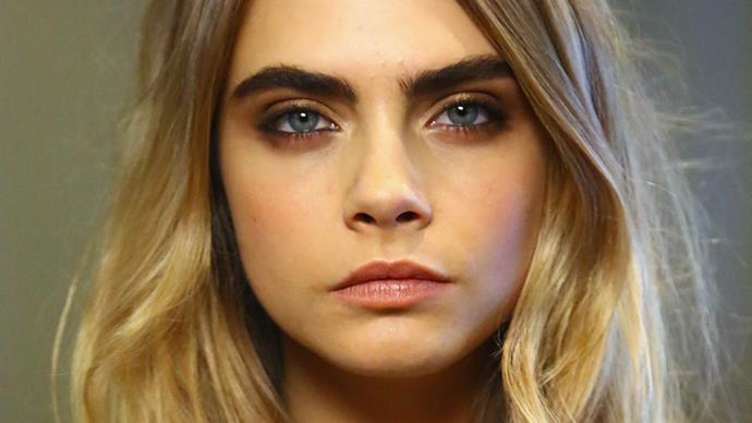 """A surgeon is offering Cara-themed """"eyebrow implants"""""""