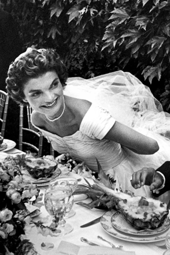 """<strong>JACKIE KENNEDY</strong> <BR> <BR> The wonderfully glamorous Jackie O had a few different dieting strategies. Some days, the only thing she would eat is a whole potato with sour cream and caviar. There are some more insights into Jackie's eating habits in her housekeeper, Marta Sgubin's, cookbook <em>""""Cooking for Madam""""</em>. Marta says one of Jackie's favourite desserts was Peaches Cardinal which consists of steamed peaches and raspberry sauce. She also enjoyed a light meal of tomatoes and cottage cheese. <BR> <BR> Marta said of Jackie, """"That was the thing about Madam and food. She was very refined about it in the ways she was about everything, but [dining] wasn't really what she was most interested in""""."""