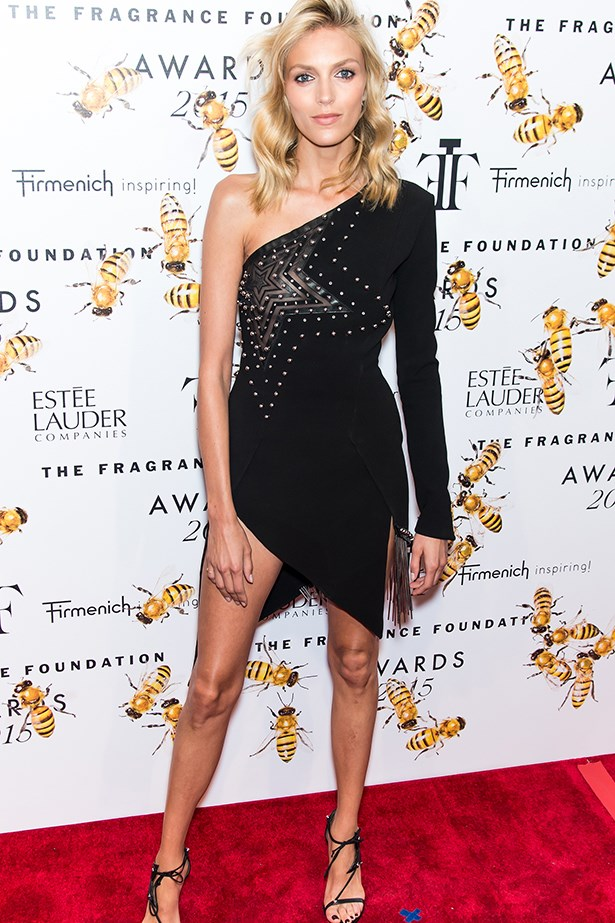 Anja Rubik at the Fragrance Awards.