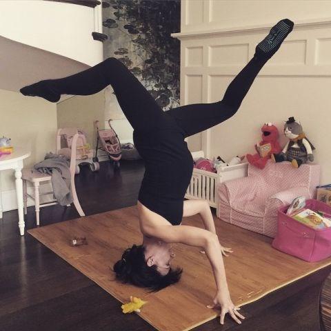 "<strong>HILARIA BALDWIN</strong> <BR> <a href=""https://instagram.com/hilariabaldwin"">@hilariabaldwin</a>"