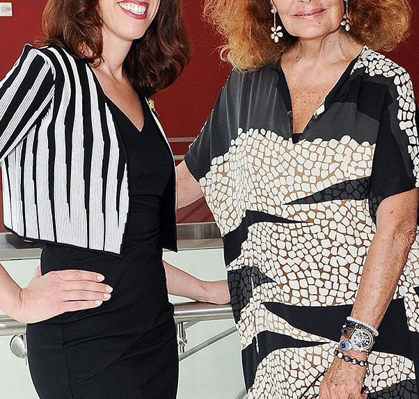 Fordham University, Susan Scafidi and Diane von Furstenberg introduce a fashion law degree