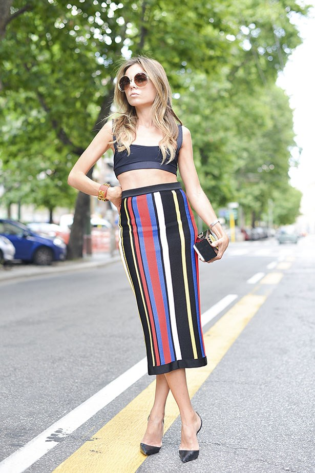 Doesn't get much more summery than toucan stripes.