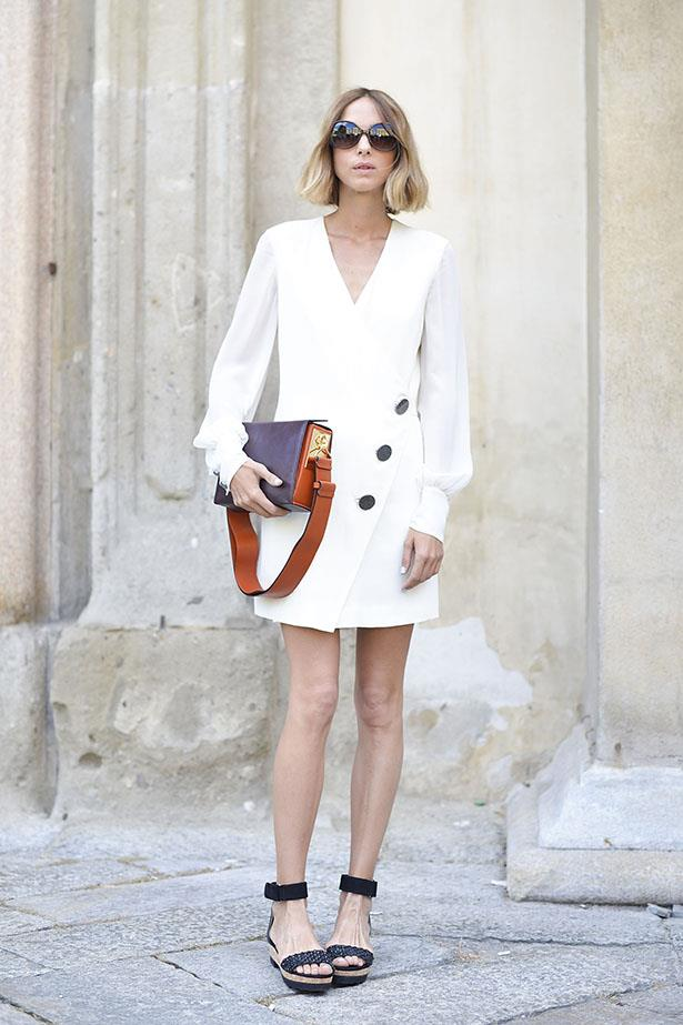 One more all white look for prosperity. And also for that button detail/those sandals.
