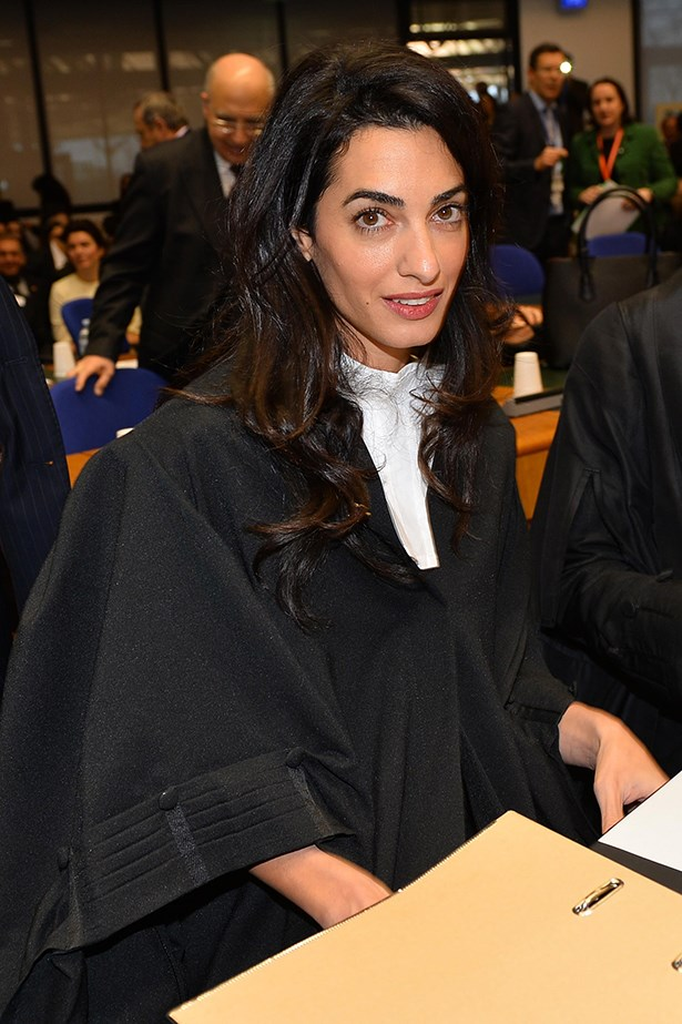 <strong>Amal Clooney</strong><br> Girl Crush Rationale: She's a human rights lawyer who has defended freedom of information laws by defending WikiLeaks founder Julian Assange, has prosecuted war criminals in a UN trial against leaders of former Yugoslavia and is fluent in Arabic, English and French