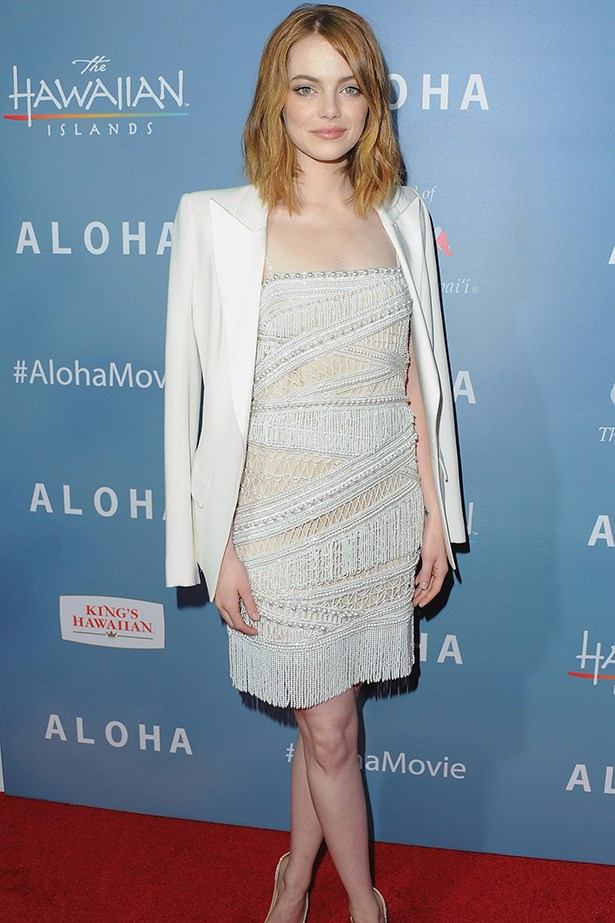 <strong>Emma Stone</strong><br> Girl Crush Rationale: Academy Award, Golden Globe and BAFTA-nominated actress who also uses her fame to raise funds for women with cancer