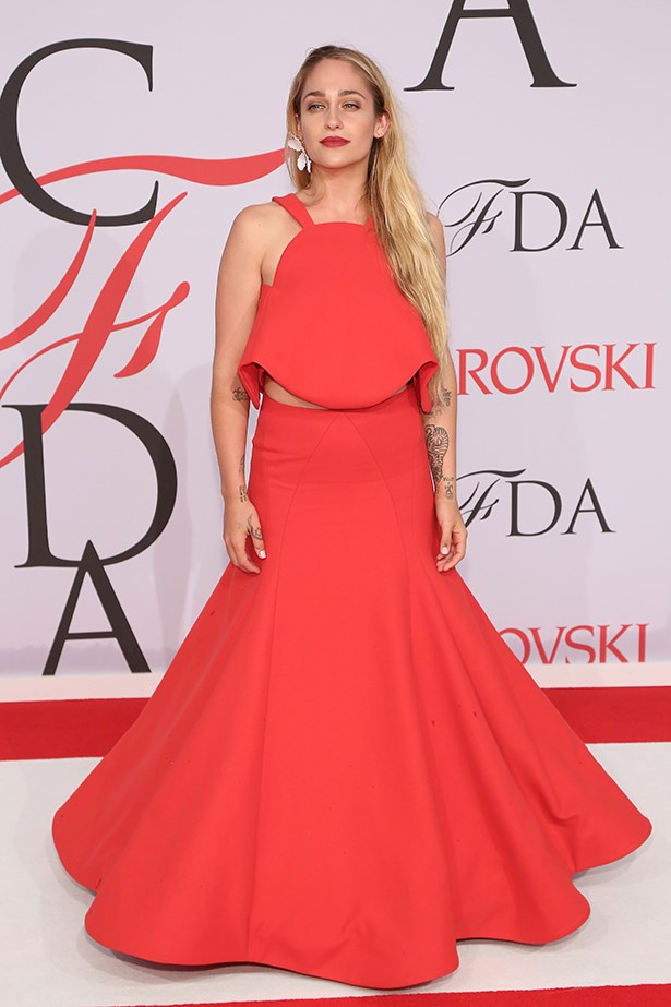 <strong>Jemima Kirke</strong><br> Girl Crush Rationale: <em>Girls</em> actress and artist who uses her fame to discuss feminist issues like access to abortion and body hair (she's a supporter of the unshaven underarm)