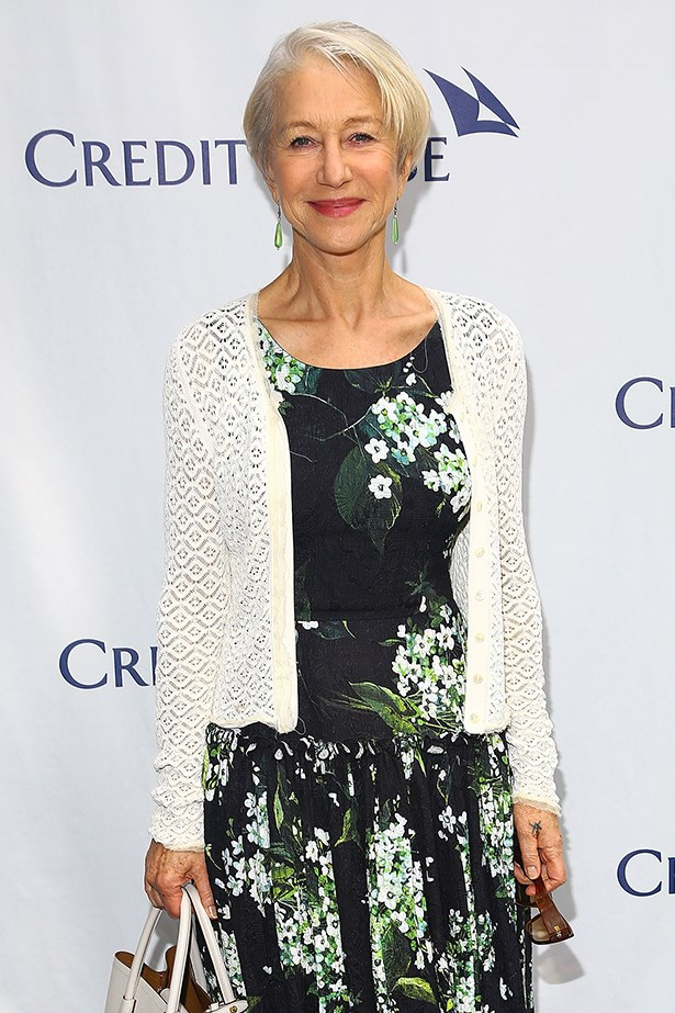 """<strong>Helen Mirren</strong><br> Girl Crush Rationale: Academy Award winning actress who recently called ageism in Hollywood <a href=""""http://www.elle.com.au/news/celebrity-news/2015/6/helen-mirren-calls-out-ageism-in-hollywood/"""">""""fucking outrageous""""</a>"""