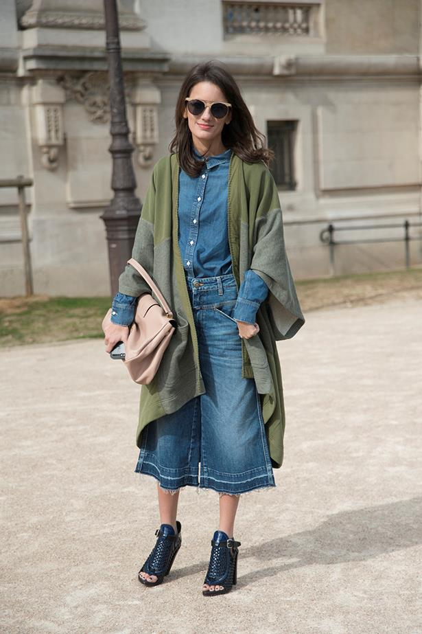 Embrace the culotte. It's not going anywhere.