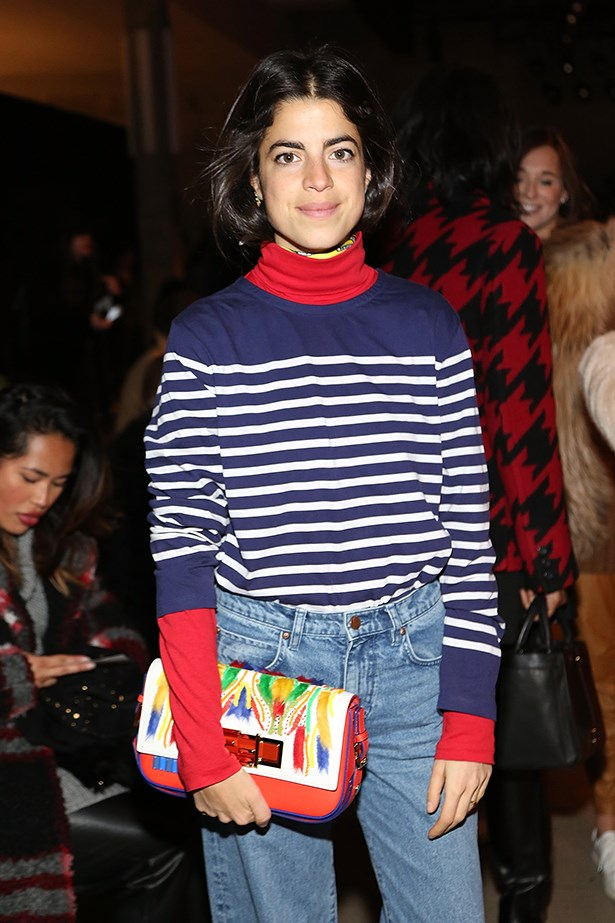 Leandra Medine is the queen of mum jeans and we love her. Image by Jason Lloyd Evans.