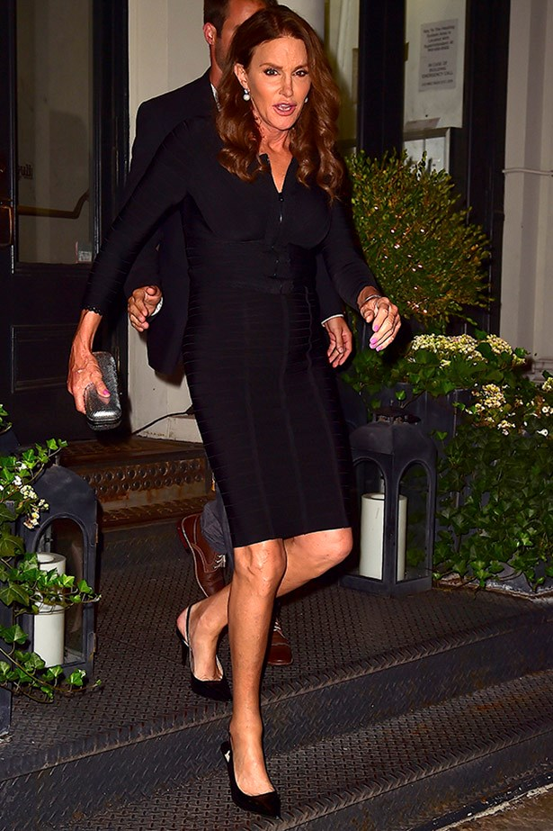 JUNE 29 Out and about in New York in a chic LBD.