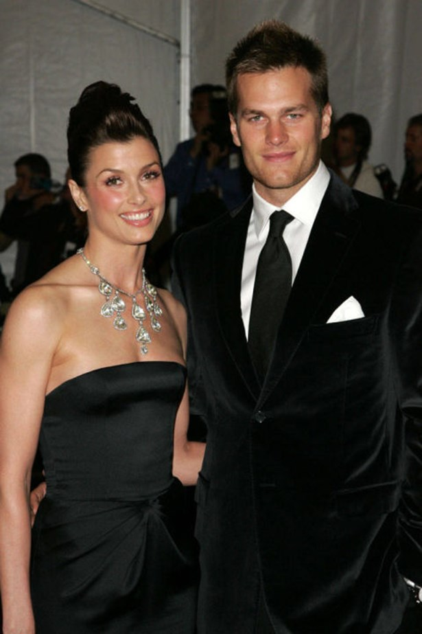 <strong>BRIDGET MOYNAHAN AND TOM BRADY</strong><br> Shortly after Bridget Moynahan and Tom Brady split in 2006, the quarterback started dating another model: his now wife, super beautiful human Gisele Bündchen. Then—surprise—Moynahan discovered she was pregnant with Brady's son, John, and drama was born.