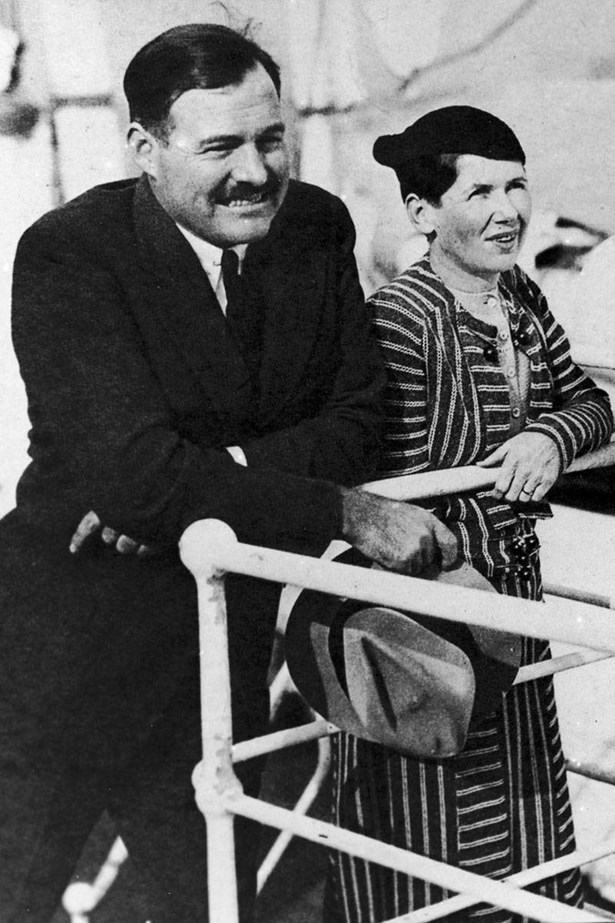 """<strong>ERNEST HEMINGWAY AND PAULINE PFEIFFER<br></strong> Hemingway left his first wife, Hadley, the """"Paris wife,"""" who he was with through the A Moveable Feast years for her best friend, Pauline Pfeiffer (pictured)."""