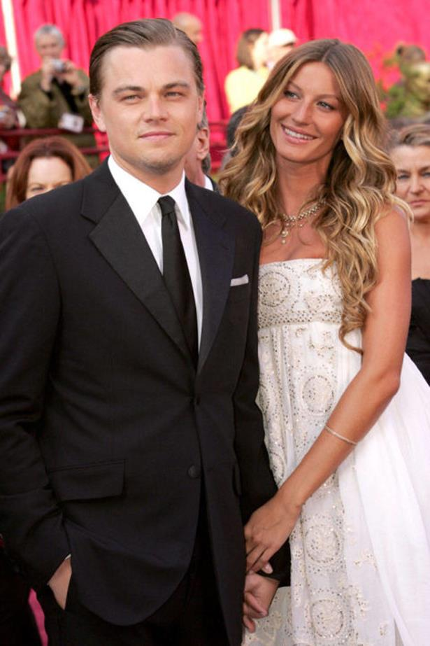 <strong>LEONARDO DICAPRIO AND GISELE BÜNDCHEN</strong><br> Leonardo DiCaprio is a serial model-dater (Bar Refaeli, check. Erin Heatherton, check.), but his split with Gisele after five years of beautiful, blonde perfection was devastating to the rest of us mere mortals.