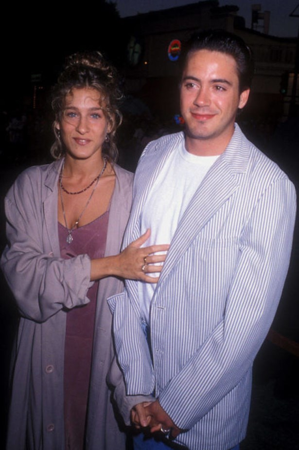 """<strong>SARAH JESSICA PARKER AND ROBERT DOWNEY JR.</strong><br> """"I liked to drink, and I had a drug problem, and that didn't jibe with Sarah Jessica, because it is the furthest thing from what she is,"""" Robert Downey Jr. <a href=""""http://www.people.com/people/article/0,,20191936,00.html"""">told Parade magazine</a> of what ended his seven-year relationship with Sarah Jessica Parker. """"She provided me a home and understanding. She tried to help me. She was so miffed when I didn't get my act together."""""""