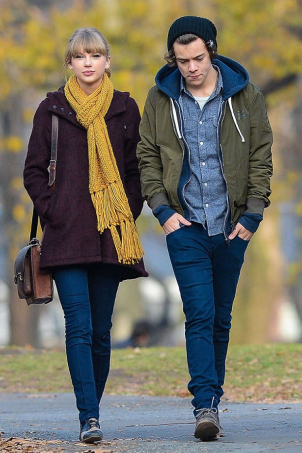 <strong>TAYLOR SWIFT AND HARRY STYLES</strong><br> Oh, Harry Styles, we have so much wonderful, hip-shaking music to thank you for. We knew you were trouble when you walked in, and even though you and Taylor might never ever, ever be getting back together, your relationship will live on in the gloriousness that is <em>1989</em>.