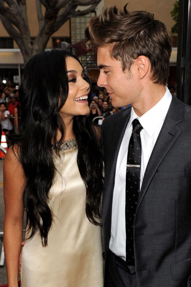 <strong>VANESSA HUDGENS AND ZAC EFRON</strong><br> When these High School Musical stars broke up after five years together, Zac Efron—and his abs—were finally on the market. Together, they were super cute, but alone, we can just appreciate the fact that he is super, super hot.