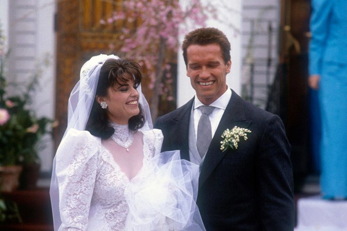 <strong>MARIA SHRIVER AND ARNOLD SCHWARZENEGGER</strong><br> An affair with a housekeeper! A love child! The Governator and his wife couldn't have ended their 28-year marriage amid more scandal if they tried.
