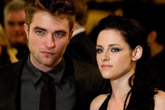 <strong>ROBERT PATTINSON AND KRISTEN STEWART</strong><br> Twihards everywhere will NEVER forgive K.Stew for cheating on R.Patz. However, Bella Swan and Edward Cullen will shimmer together, forever.