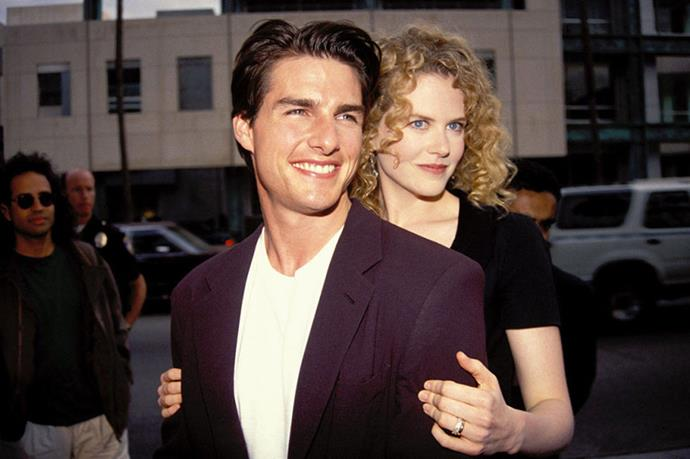 <strong>TOM CRUISE AND NICOLE KIDMAN</strong><br> If nothing else, Eyes Wide Shut was a valiant effort to save one of Hollywood's most iconic couples. Unfortunately, it was all in vain: the famous '90s pair split in 2001.