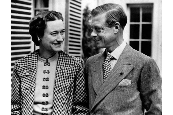 <strong>WALLIS, DUCHESS OF WINDSOR, AND PRINCE EDWARD, DUKE OF WINDSOR</strong><br> Wallis Simpson broke up with her husband to marry this guy, Edward, who happened, at the time, to be the King of England. King Edward VIII broke up with ENGLAND. The ultimate declaration of love: abdicating a throne.