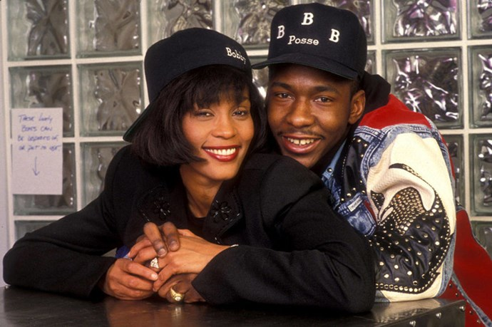 """<strong>WHITNEY HOUSTON AND BOBBY BROWN</strong><br> """"He was my drug,"""" Whitney Houston told Oprah in 2009. """"I didn't do anything without him. I wasn't getting high by myself. It was me and him together, and we were partners, and that's what my high was—him. He and I being together, and whatever we did, we did it together. No matter what, we did it together."""" It was her growing fame, Houston said, however, that drove the two apart."""