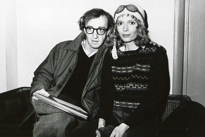 <strong>WOODY ALLEN AND MIA FARROW</strong><br> After Farrow found nude photos of her 20-year-old adopted daughter, Soon-Yi, in Allen's apartment, the two separated, messily.